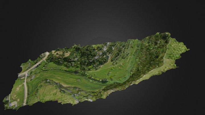 Gravine di Triglie Statte (Italy) 3D Model