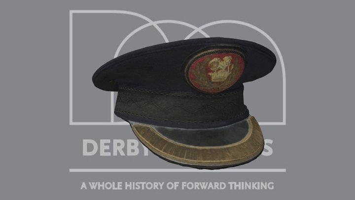 British Railways Hat 3D Model