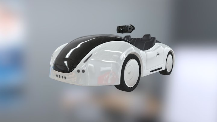 DROVI: World's first autonomous ride-on car 3D Model