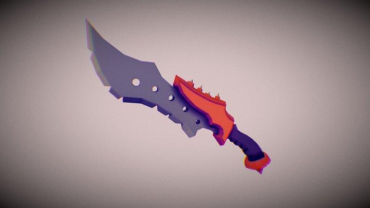 Fantasy Knife 3D Model