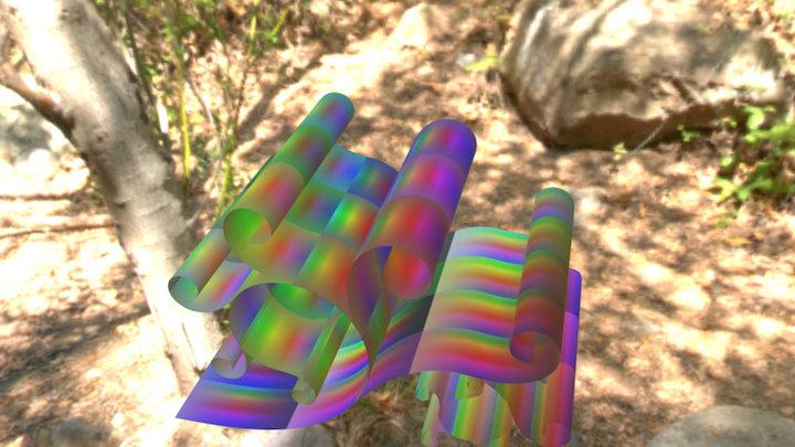 Rainbowpix 3D Model