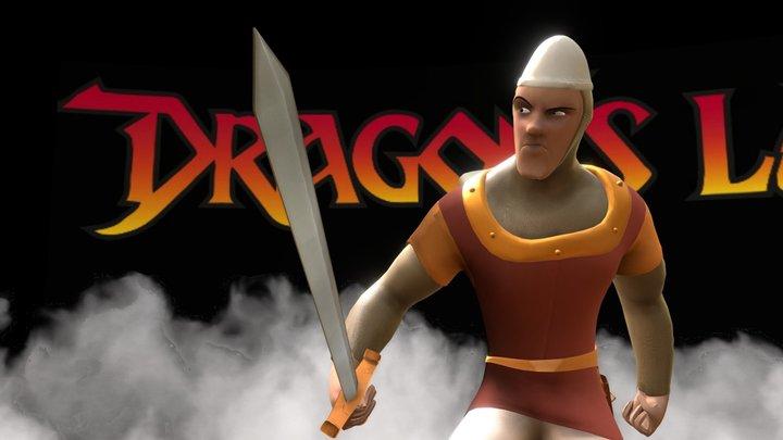 Dirk the Daring - Dragon's Lair 3D Model
