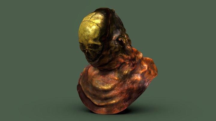 Concept Bust: Flesh 3D Model