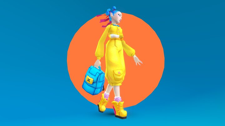 character_00 3D Model