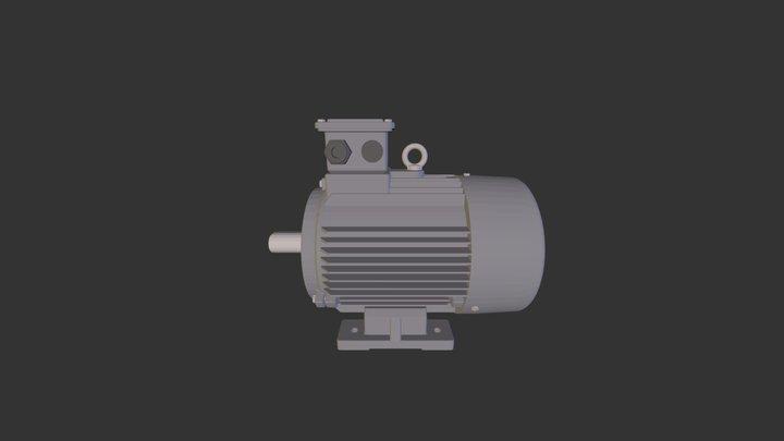 OMT1-IE2-132-4-B3 3D Model