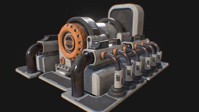 Thorium PowerGenerator 3D Model