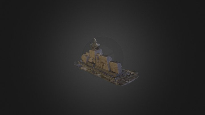 Plac Waryńskiego 3d Triangulated Mesh 3D Model