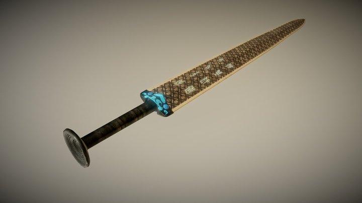 越王勾踐劍 3D Model