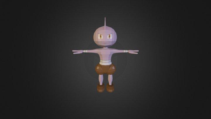 Tyrogue 3D Model