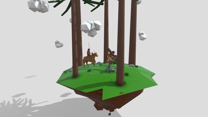 Marichiweu (Character Design Wallmapu) 3D Model