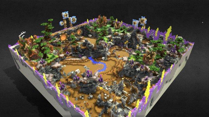 KitPVP / PvP map 3D Model