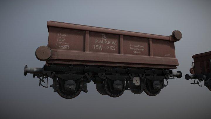 Train Car - 15W / 22W 3D Model
