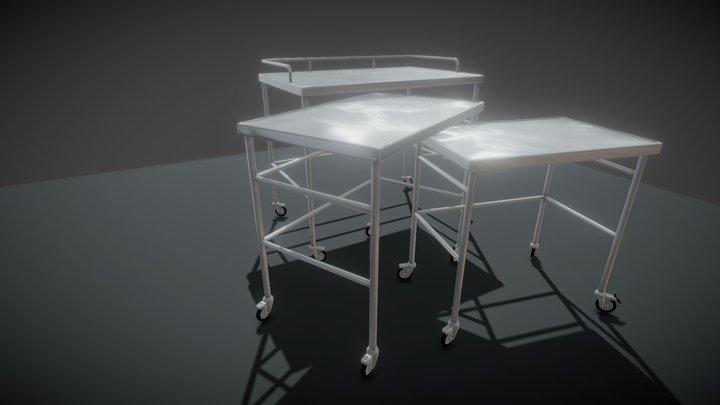 Laboratory / Hospital Troly 3D Model