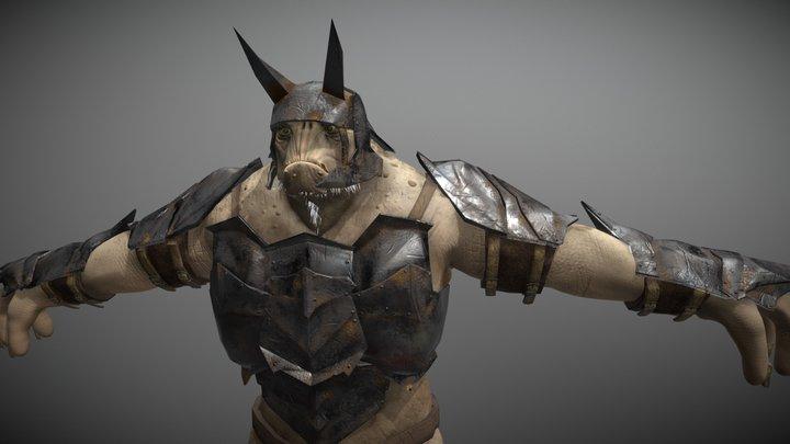 Battle Troll from L0TR 3D Model
