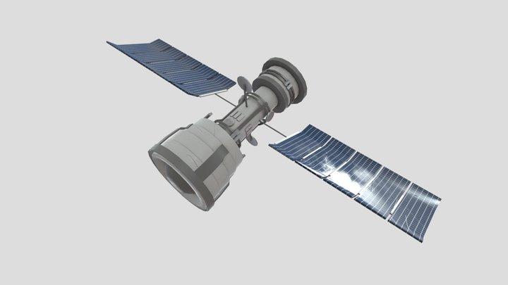 Satellite Toy/Model 3D Model