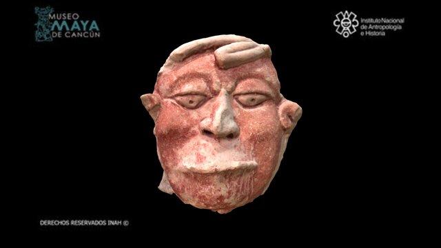 Cautivo con la boca cosida 3D Model
