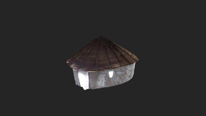 Traditional Hut 3D Model