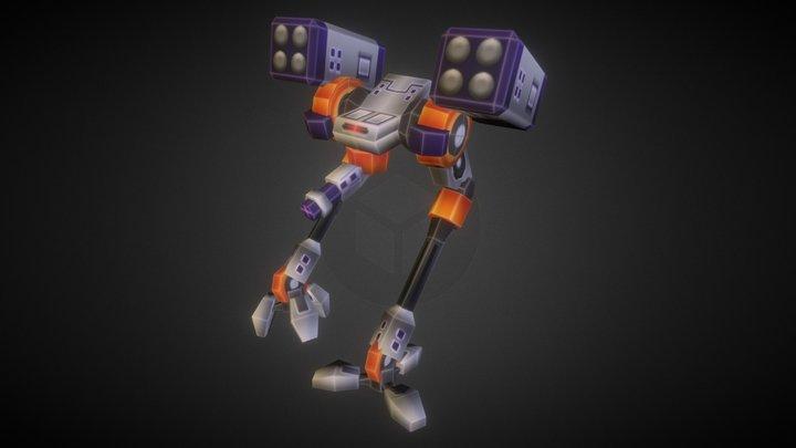 Assault Platform 3D Model