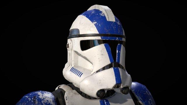 Phase II Clone Trooper 3D Model