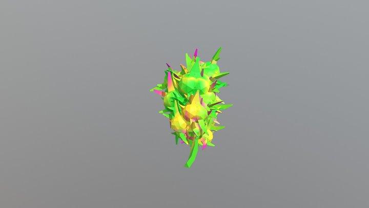 One Gram Of Marijuana 3D Model