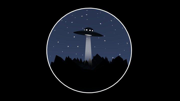 UFO - terrarium 3D Model