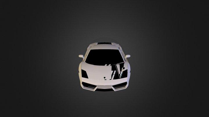 Car Lamborghini Gallardo N291012 3D Model
