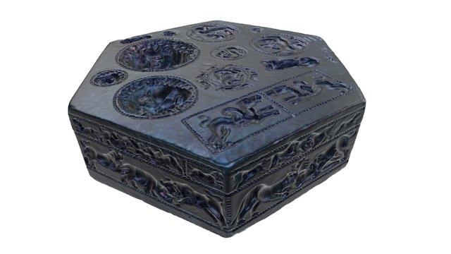 Matrix with hollow designs 3D Model