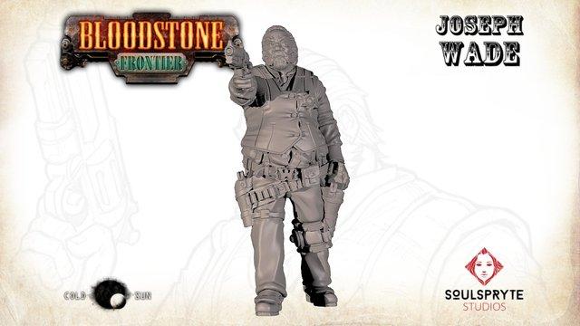 Bloodstone Frontier Joseph Wade 3D Model