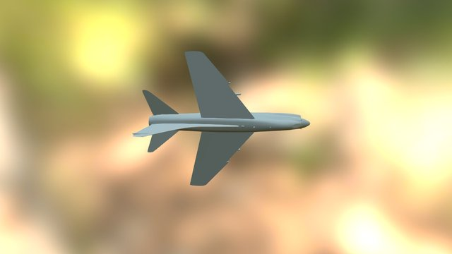A7 Corsair II 3D Model