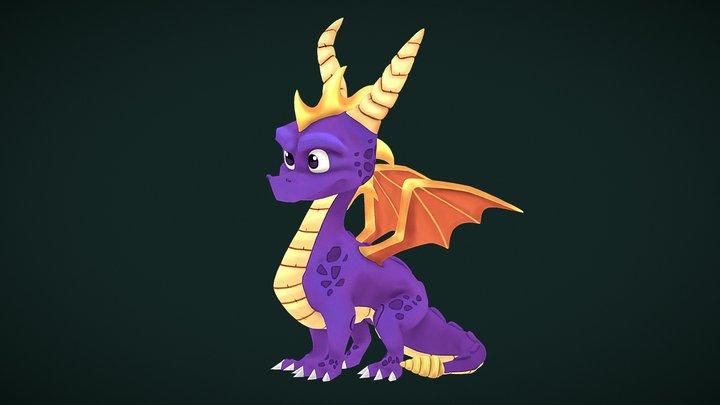 Spyro - Reignited trilogy 3D Model