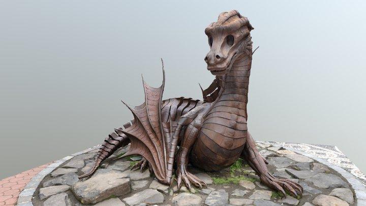The Fairytale Dragon of Jičín, Czech Republic 3D Model