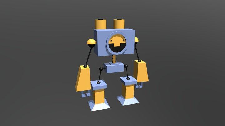 VintageRobot_3D-2D_Vincenzo_Didion 3D Model