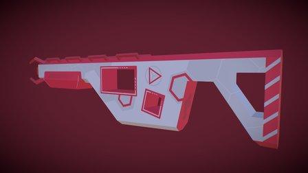 N-GON Shadowstalker Mk. II 3D Model