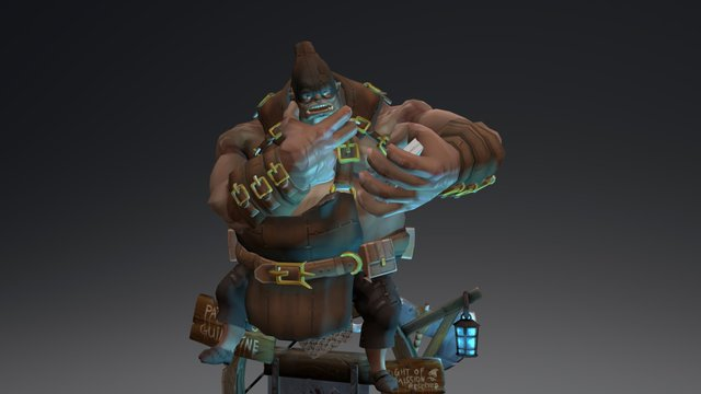 The Beast_Executioner 3D Model