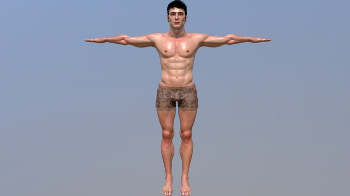 CARLO CHARACTER 3D Model
