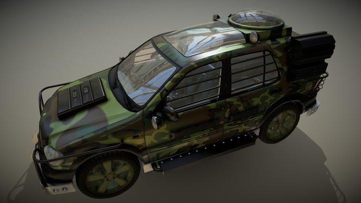 Mercedes Benz TLW Version 3D Model