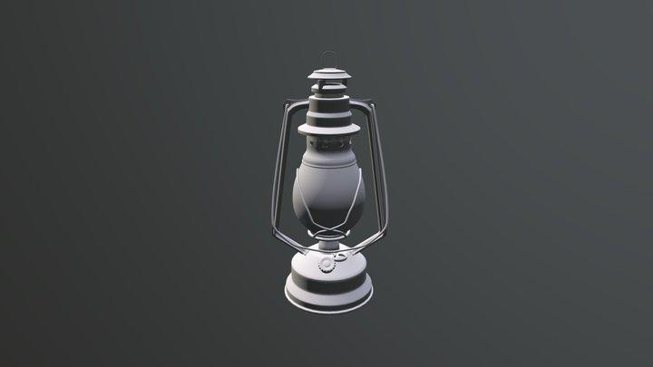 Oil- Lamp1 3D Model
