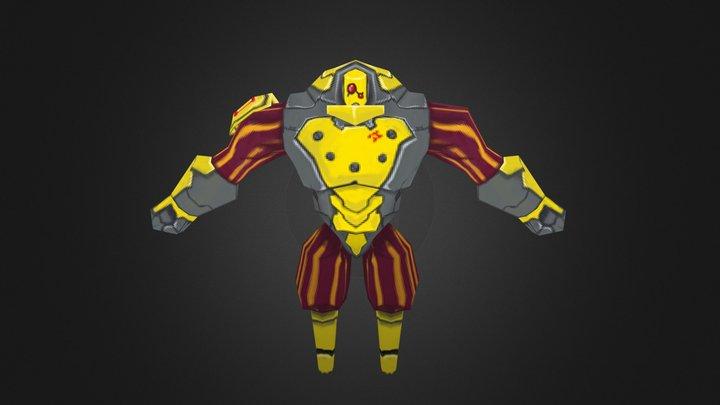 Cyborg 2 3D Model