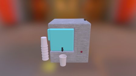Distiller Model 3D Model