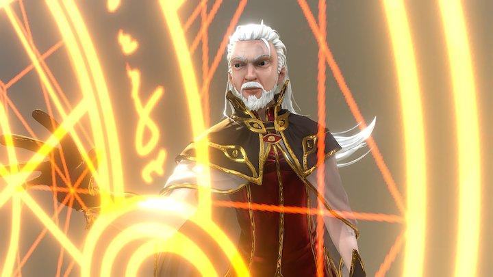 Ragnarok Wizard (MMORPG) 3D Model