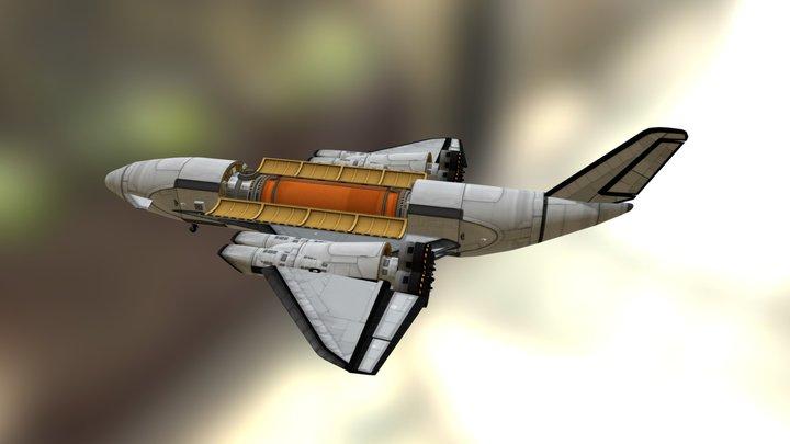 RSUV SSTO - Longsword Mk LIV 3D Model
