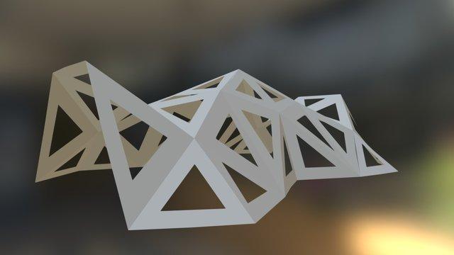 Triangle walk 3D Model