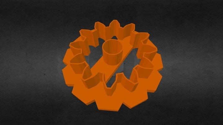 Gear cookie cutter 3D Model