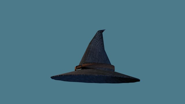 Training: Gendalf's hat 3D Model