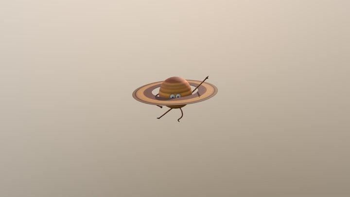 Dancing Planet 3D Model