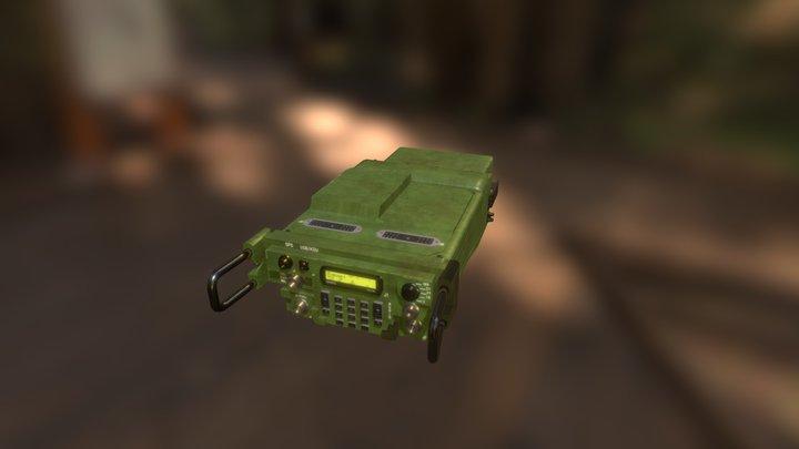 Harris Failcon Military Radio 3D Model