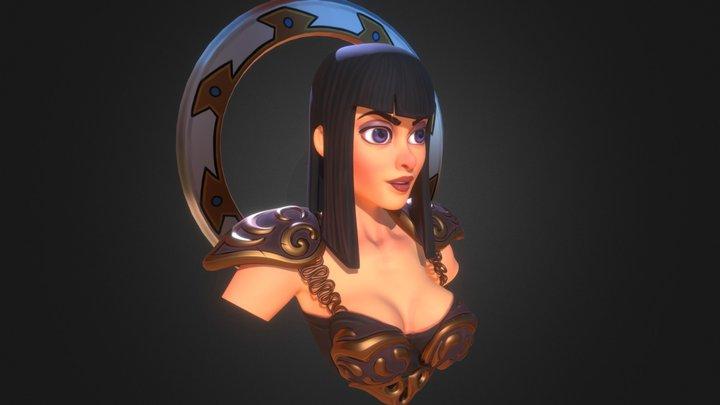 Xena2 3D Model