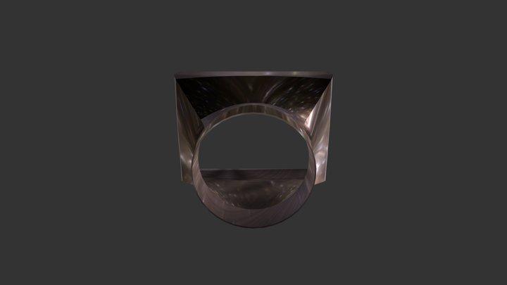 Переходник для подключения дымохода 3D Model