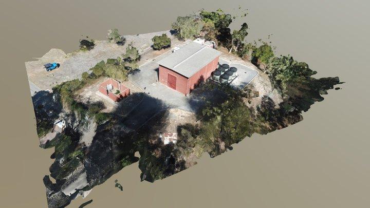 Sewer Pump Station 3D Model