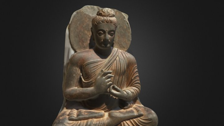 Seated Buddha scanned by Fenner and Zhang 3D Model